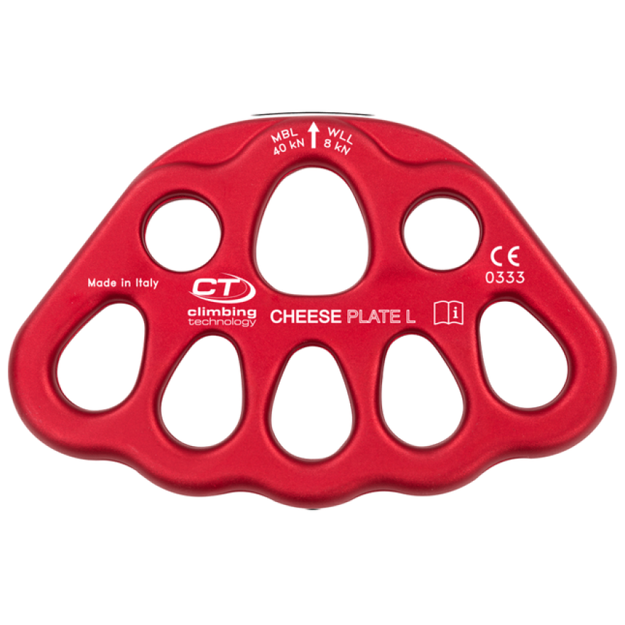 Climbing Technology Cheese Plate L, rot