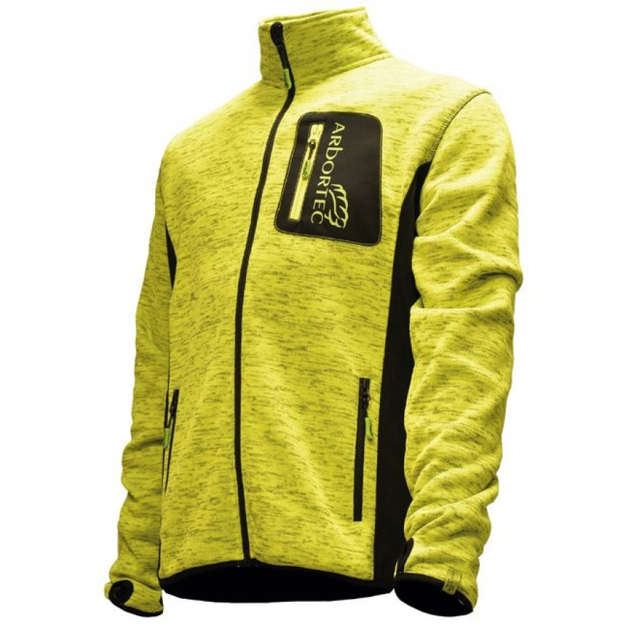 Arbortec Kudu Plus - Mélange Knitted Jacket - Yellow