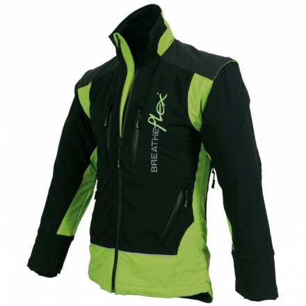 low priced 3b6e3 d714c Arbortec Breatheflex Performance Jacke Lime/Schwarz
