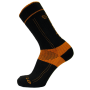 Arbortec Xpert Lo Sock, Black/Orange